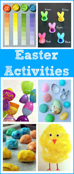 Easter Activities For Toddlers And Preschoolers