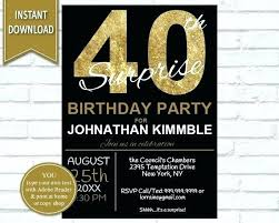 40th Birthday Invitations Free Templates 40th Birthday Party Templates Uniplatz Co