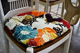 kitchen chair cusions. DIY: Re-Cover Your Kitchen Chair Cushions Cusions