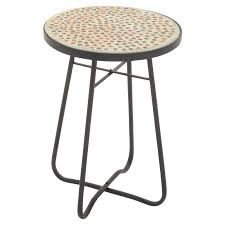 Glass Round Side Table Upc 758647456321 Benzara Metal Glass Round Side Table Buycott