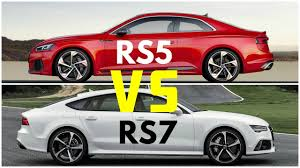2018 audi rs7. perfect audi 2018 audi rs5 coupe vs rs7 sportback performance with audi rs7