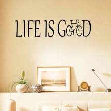life is good wall decor images home wall decoration ideas with regard to most cur