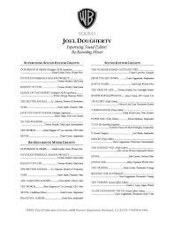 Film Production Resume Resume Online Builder