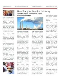 Microsoft Newspaper Article Template Awesome Newsletter Template Of Newspaper Office Free