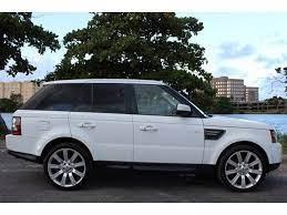 Used 2011 Land Rover Range Rover Sport Hse For Sale In Miami Fl Miami Auto Wholesale Range Rover Range Rover Sport Land Rover