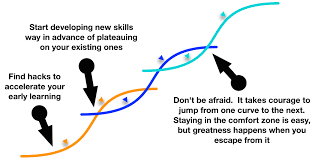 take down your corporate ladder and support career disruption career disruption s curve series