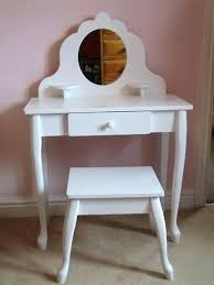 childs dressing table and stool girls dressing table white wooden dressing table and stool for little childs dressing table