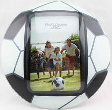 more views glass curved soccer picture frames