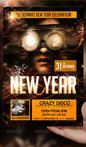 New Year Flyer Template By Lordfiren On Deviantart