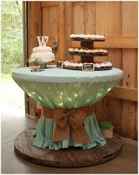 Wine Spool Wedding Cake Stand - Wood Wire Spool Recycle Ideas