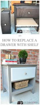 Simple Makeover Furniture To Add A Shelf Throughout Perfect Design