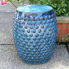 ceramic garden stool drum costco