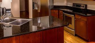 granite cleaning process results clean kitchen