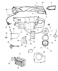 1999 dodge dakota heater unit mopar parts giant air conditioning diagram 1997 dodge