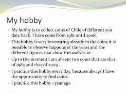 essay on my hobby for class  my hobby