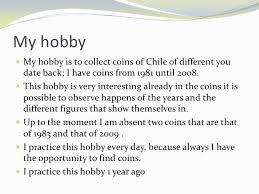 essay on my hobby for class  my hobby