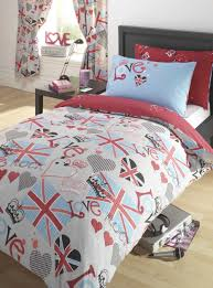 Duvet Cover for Teen That Will Bring Cheerful Nuance in Bedroom ... & bedroom ideas for teen with duvet covers for teens plus simple wooden  nightstand and wooden floor Adamdwight.com