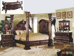 San Mateo Bedroom Furniture Traditional Canopy Bed Marble Bedroom Set Shop Factory Direct