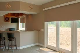 cream privacy sheer for white framed sliding glass door mini corner kitchen island with stoolbars