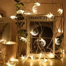 Fairy Lights Moon Amazon Com Youeneom Led String Lights Moon Fairy Lights