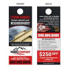 Custom Designed Door Hangers - Quality Prints - FREE Shipping ...