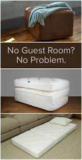 No Guest Room - No Problem OoRoo is a space-saving bed that transforms from