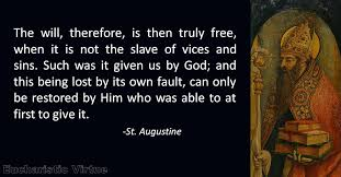St Augustine Quotes Unique Daily Virtue Quote St Augustine Eucharistic Virtue