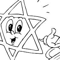 Jewish Coloring Pages Surfnetkids