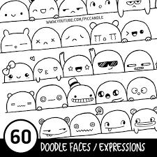 60 Carina Facce Espressioni Stampabile Praticano Fogli Nel 2019