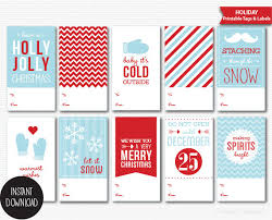 From Santa Labels Free Editable Christmas Gift Tag U2014 505 Design IncChristmas Gift Tag Design