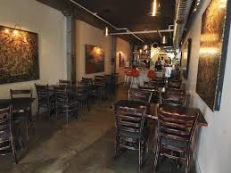 subdued lighting. The Dining Room At Le Fantome Features Subdued Lighting. Lighting V