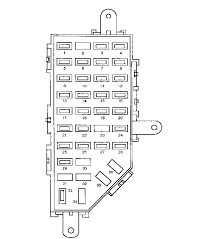 under dash fuse box 02 745 under printable wiring diagram 1997 ford ranger diagram wheel drive 2 3 litre four cylinder source · fuse box