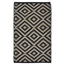 nate berkus 2x339 black diamond accent rug target 2x3 kitchen rug