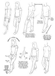 Walking Drawing Reference And Sketches For Artists