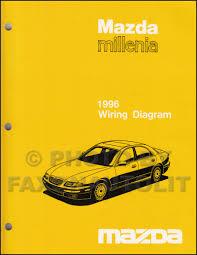 mazda millenia service manuals shop owner maintenance and 1996 mazda millenia wiring diagram manual original