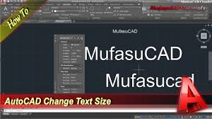 how to change text size autocad how to change text size youtube
