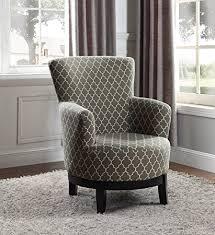 swivel accent chair. NHI Express 90023-27 London Swivel Accent Chair, Regular Chair A
