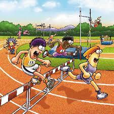 Resultado de imagen de carrera atletismo cartoon