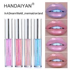 Crystal Light Lip Balm Us 1 55 10 Off Brand Plump Liquid Crystal Glow Lip Gloss Laser Holographic Lips Tattoo Lipstick 3d Makeup Mermaid Pigment Glitter Lip Gloss In Lip