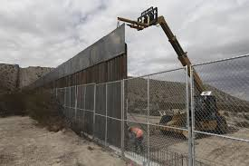 Small Picture Donald Trump Says Border Wall May Be Part Fence Hints at Mass