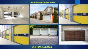 Garage Door Repair Rockville MD 301-264-8283 Overhead Door Repairs ...