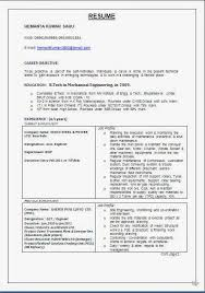 Resume Format For Iti Fitter Resume Format Iti Fitter Resume Format Iti  Fitter Resume Format