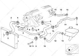 New bmw e39 cooling system diagram