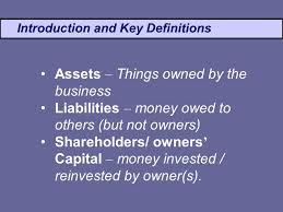 definitions of balance sheet accounting finance balance sheet igcse business studies ppt