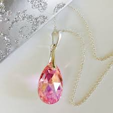 swarovski elements light rose