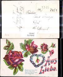 290703aus Liebe Blumen Auf Deinen Pfad Rosen Herz Vergissmeinnicht