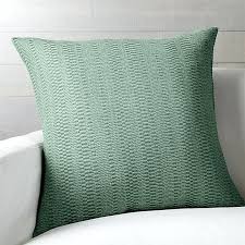 olive green pillows. Seafoam Green Pillows Pillow Crate And Barrel Olive Velvet X