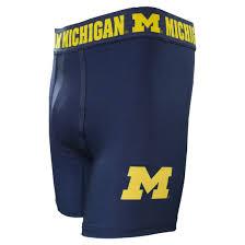 College Concepts University Of Michigan Navy Cityscape Boxer Brief