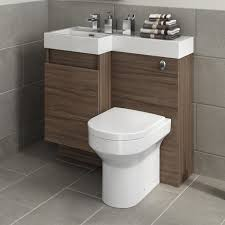 Toilet With Sink Attached Delightful Bathroom Corner Decoration Using White Porcelain Toilet