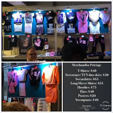 Light Blue Sweetener Hoodie Full Merch Booth And Pricing Ariheads